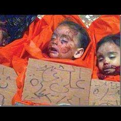 Syrian children killed by Bashar's army………….#Syria #SyrianRevolution #mar13…