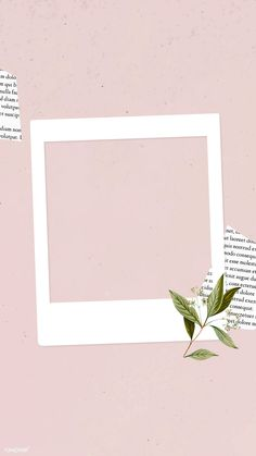 Blank collage photo frame template on pink background vector mobile phone wallpaper | premium image by rawpixel.com / NingZk V.