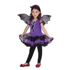 29.99$  Watch here - https://alitems.com/g/1e8d114494b01f4c715516525dc3e8/?i=5&ulp=https%3A%2F%2Fwww.aliexpress.com%2Fitem%2FHalloween-cosplay-costume-children-s-costume-stage-performance-Princess-Dress-Purple-bat-girl-set%2F32734633578.html - Kids Clothes Halloween cosplay Costume Children Stage Performance Princess Dress Girls Outfits Purple Bat Boutique Girl Sets  29.99$