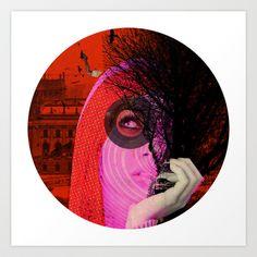 A dream for a lifetime · Katja · Crop Circle Art Print by Marko Köppe - $19.99