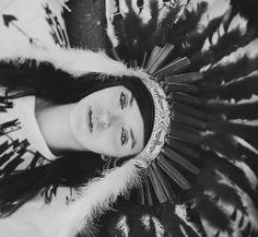 Indian Girl by Marta Syrko