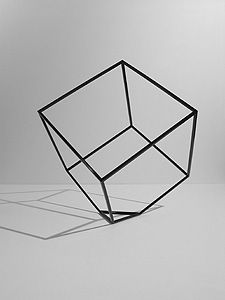 Clipped Cube by designer Ron Gilad via Designfenzider #RonGilad #Designfenzider