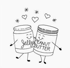 True Love: Peanut butter & Jelly