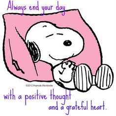 ·:*¨¨*:❤·:*¨¨*:Always end your day with a positive thought and a grateful heart!