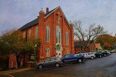 Church in Downtown Weston Missouri - Liane Wright