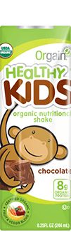 Orgain Organic Kids Protein Shake - Kids Organic Nutritional Shake - pick these up at Costco or Target over American Thanksgiving. Less gross than Pediasure and good to have at preschool for food refusal emergencies