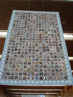 Chuck Nohara by cyberphenicia, via Flickr So amazing - I saw one at the Sydney Quilt Show and thought it was stunning.