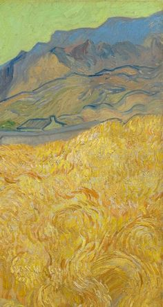 Wheatfield with a Reaper - Van Gogh Museum