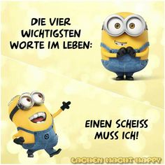 Minions - Sprüche An advanced Mafia Competitions gamer and you simply became aware precisely how Despicable Me Funny, Funny Minion Memes, Minions Quotes, Jokes Quotes, Funny Jokes, Minions Images, Funny Minion Pictures, Best Friends Funny, Jokes For Kids