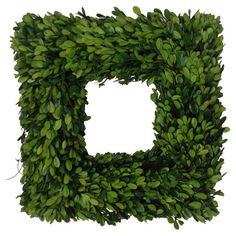 This Beautiful Wreath Is One Of The Mills Floral Newest Signature Preserved  Boxwood Pieces. With