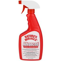 Nature's Miracle. An essential product for no pet owners.