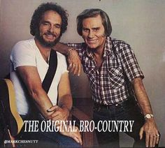 """Must've Been Drunk"" is a duet record by country music legends Merle Haggard and George Jones. Vern Gosdin wrote it. Bro Country, Old Country Music, Best Country Singers, Country Music Videos, Country Music Artists, Country Music Stars, Merle Haggard Songs, Music Beats, George Jones"