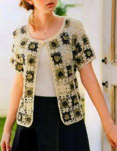Crochet Sweater: Crochet Pattern Of Beautiful Sweater