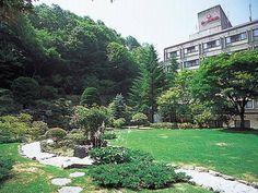 Dai-ichi Takimoto-kan @Noboribetsu, ☆☆☆☆ 館内は千と千尋っぽいです。温泉がたくさんあってわくわくする♥ 露天風呂でお酒を飲めるのが魅力。