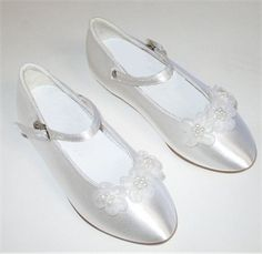 first+communion+shoes+for+girls | ... First Communion Shoes - First Communion Shoes - Girls White Shoes