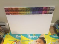 Simple Crayon Art - Beauty is in the Eye of the Crayon Holder