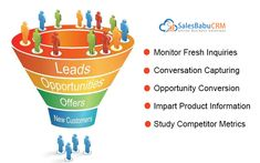 Converting leads into deal is first and foremost task for any business. SalesBabu Sales #CRM #Software offers easy access to new enquiries and flawless lead tracking system to get more conversion from sales leads managed in the sales CRM software. • Monitor Fresh Inquiries • Conversation Capturing • Opportunity Conversion • Impart Product Information • Study Competitor Metrics  Request Demo http://bit.ly/2qhSbc6  #startupbusiness #startup #smallbusiness #entrepreneur