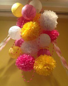 tissue paper flowers | Tissue paper flowers | Baby Shower