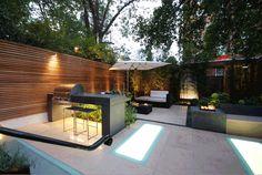 South Kensington garden - Charlotte Rowe