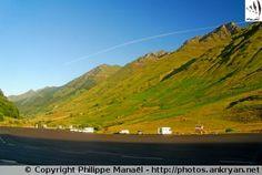 Parking de la Gaubie, Aygues-Cluses (France, Midi-Pyrénées, Hautes-Pyrénées)