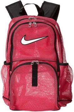 52a040f73b0 Nike Backpack Brasilia 5 XL Mesh Blue Black Bag Men Women Boys Girls School  Book #Nike #Backpack #OrlandoTrend #Pink