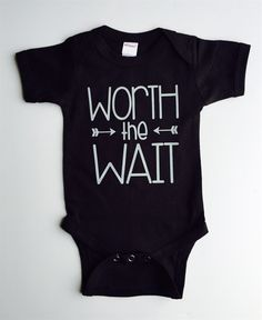 """A Jane special just for you…we are offering these adorable """"graphic"""" bodysuits that speak for themselves. Time to stock up on baby shower gifts! Such a perfect present for a soon-to-be momma, parents that are adopting, little miracle babies, or just because. We tried to make the designs and colors unisex, so they will work perfectly for those parents that are choosing not to find out the gender :) We are offering sizes from newborn up to 18 months. You get to pi..."""