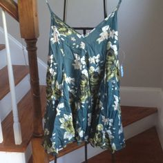 Free People Alyson top Final Price! One left! Super flirty green top. new with tags. Free People Tops