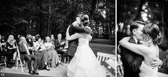 Das pure Glück: Es ist offiziell, diese beiden sind Mann und Frau und für immer vereint. Mehr Hochzeitsfotos aus Karos und Phillips Trauung findet ihr in meinem Blog! Viel Vergnügen!