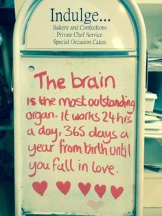 Thanks brain!