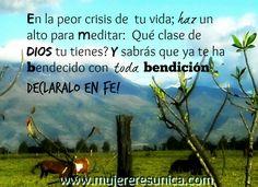 Bendecidas!  www.mujereresunica.com