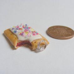 scented pop tart pendant - miniature food jewellery £8.99