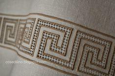 Toga Party, Drawn Thread, Cross Stitch Patterns, Needlework, Embroidery, Satin Stitch, Indian Embroidery, Needlepoint Patterns, Embroidery Stitches