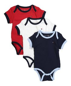 This Three-Piece Bodysuit Set is perfect! #zulilyfinds