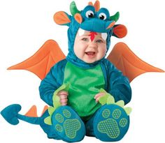 16 Best Halloween Costumes for Babies and Toddlers: Dinky Dragon Baby and Toddler Costume