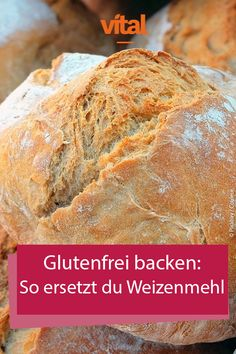 # Wheat flour used to be an integral part of baking, today it is different: # Gluten-free recipes are a hit. So that you can also bake without wheat flour, we will show you real alternatives for your gluten-free baking art. Paleo Baking, Baking Flour, Gluten Free Baking, Bread Baking, Sin Gluten, Easy Cake Recipes, Gluten Free Recipes, Cookie Recipes, Healthy Breakfast Recipes
