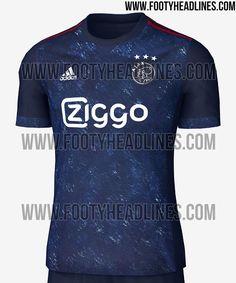 Exclusive: Ajax 17-18 Away Kit Leaked - Footy Headlines