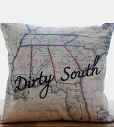 Dirty South Pillow Cover