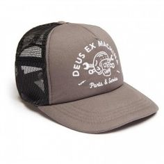 Deus Ex Machina - Casquette Carlo trucker grey - US Trailer would love to  lease used bb84a3e7822a