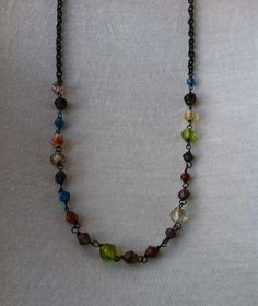 Handmade Jewelry - Rainbow Glass