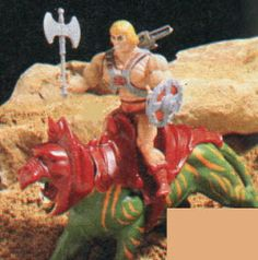 Vintage 70-80's He Man Toys