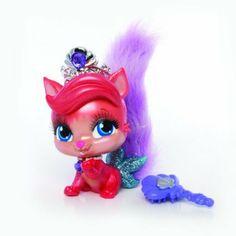 Amazon.com: Disney Princess Palace Pets Talking/Singing Collectibles - Ariel (Kitty) Treasure: Toys & Games
