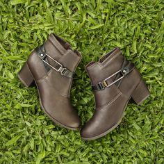 Bota - boots - bota de cano curto - conforto - Campesí - Ref. L5463