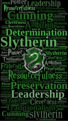 HD Slytherin Traits Phone Wallpaper by emily-corene.deviantart.com on @DeviantArt