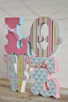 Stacking LOVE Letters