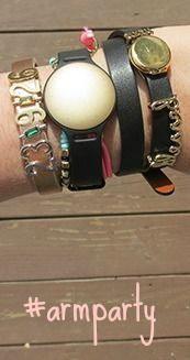 #armparty with Misfit Shine #fashion #fitness #review #ad