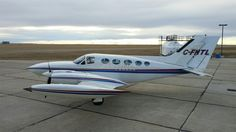 1975 Cessna 421B for sale in Calgary, AB Canada => www.AirplaneMart.com/aircraft-for-sale/Multi-Engine-Piston/1975-Cessna-421B/13423/