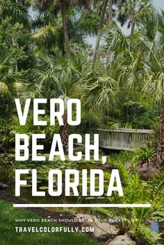 If you're interested in visiting a quiet coastal beach town, Vero Beach is the place you want to be. The town should be on the top of your bucket list. Florida Usa, Vero Beach Florida, Florida Travel, Florida Beaches, Florida Trips, Florida Vacation, Usa Travel Guide, Travel Usa, Beach Travel