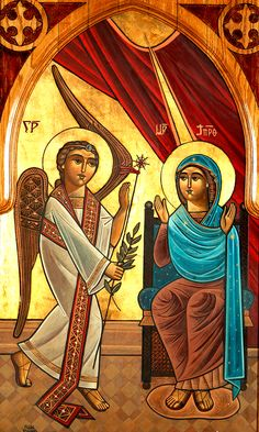 Icon by Isaac Fanous, St Peter and St Pauls Coptic Orthodox Church