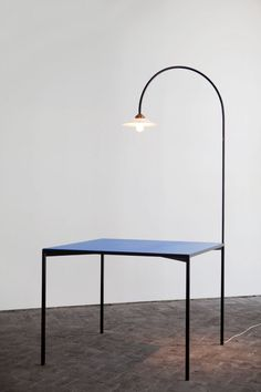 table + lamp | Muller Van Severen