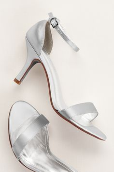 Pair a metallic heel
